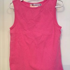 FRESH PRODUCE NEW TOP TANK TROPIC PINK COTTON 7/8